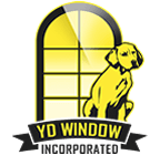 Logo for yellow dog windows