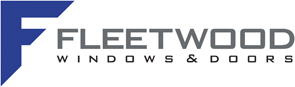 Logo for fleetwood windows and doors
