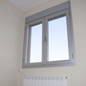 New residential aluminum framed windows