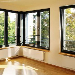 Residential windows with tilt operation